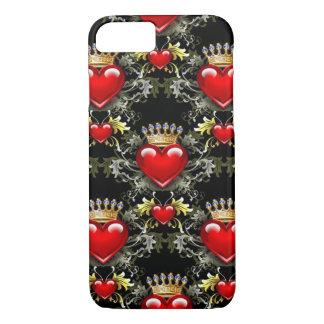 Queen of Hearts II iPhone 7 case