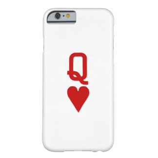 Queen of Hearts iPhone 6/6S Barely There Case