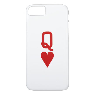 Queen of Hearts iPhone 7 Barely There Case
