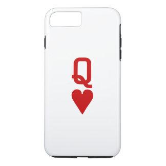Queen of Hearts iPhone 7 Plus Tough Case