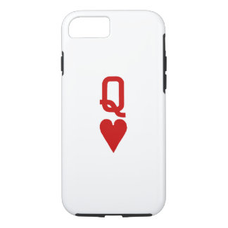 Queen of Hearts iPhone 7 Tough Case