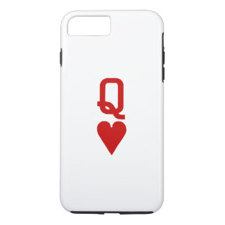 Queen of Hearts iPhone X/8/7 Plus Tough Case