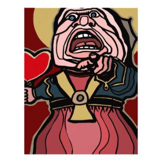 Queen of Hearts Letterhead