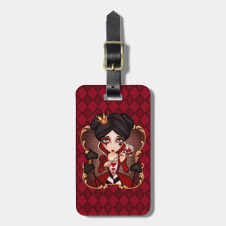 Queen Of Hearts Luggage Tag