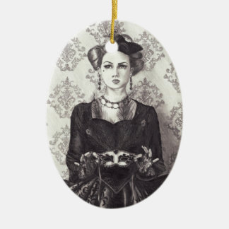 Queen of Hearts - Ornament