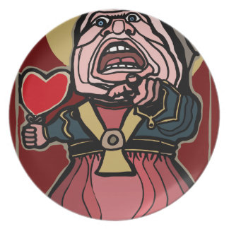 Queen of Hearts Party Plates