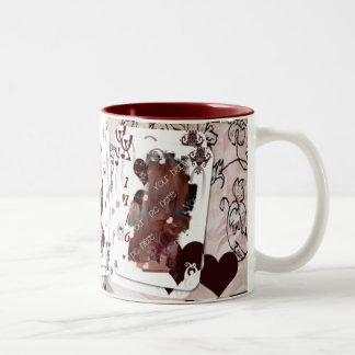 Queen of Hearts Photo Mug