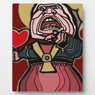 Queen of Hearts Plaque