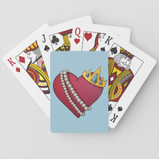 Queen of Hearts Poker Deck