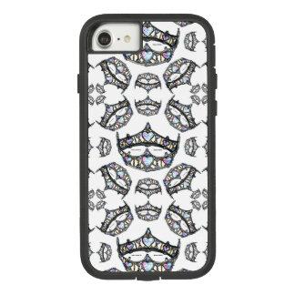 Queen of Hearts Silver Crowns Tiaras white case