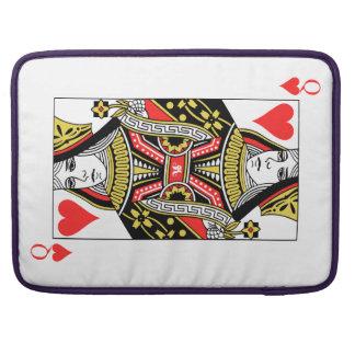 Queen of Hearts Sleeve For MacBook Pro