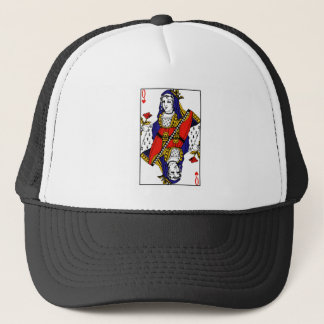 Queen of Hearts Trucker Hat