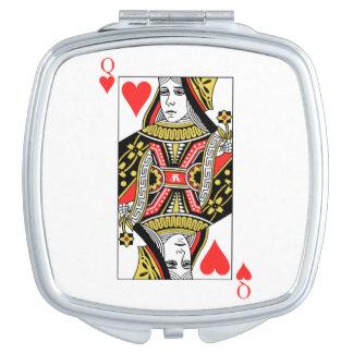 Queen of Hearts Vanity Mirror