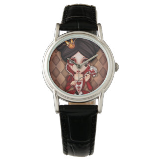 Queen Of Hearts Wristwatches