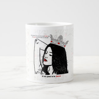 Queen Of Her Own Life Large Coffee Mug