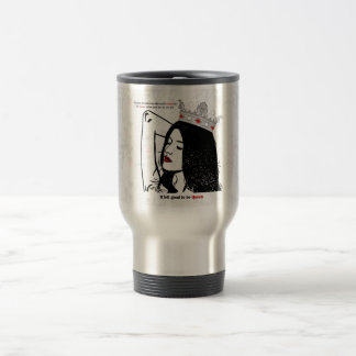 Queen Of Her Own Life Travel Mug