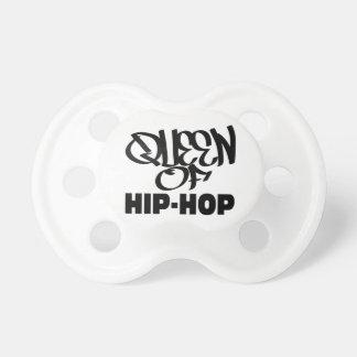 queen of hip hop pacifier