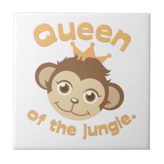 Queen Of Jungle Ceramic Tiles