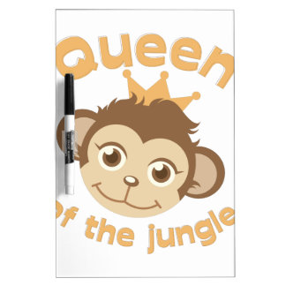 Queen Of Jungle Dry Erase Boards