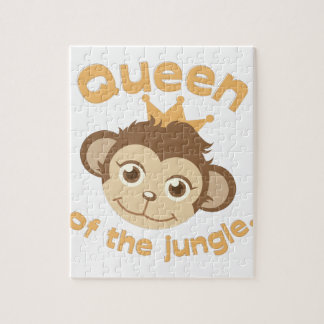 Queen Of Jungle Puzzle