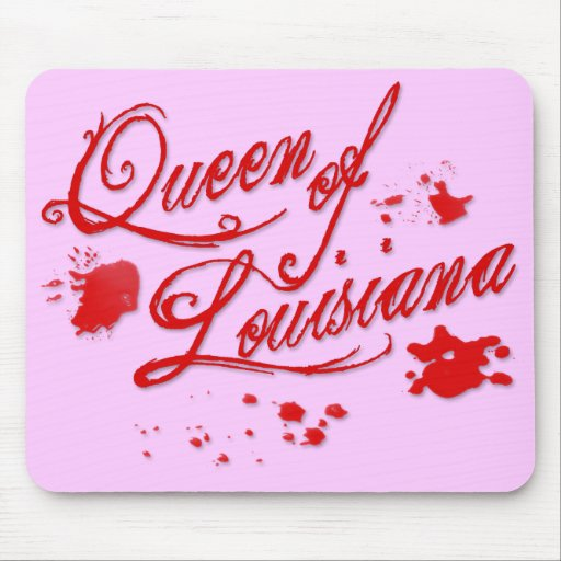 Queen of Louisiana Mouse Pad