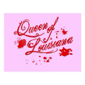 Queen of Louisiana Postcard