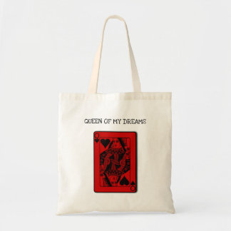 """Queen of my Dreams"" stylish Tote bag"