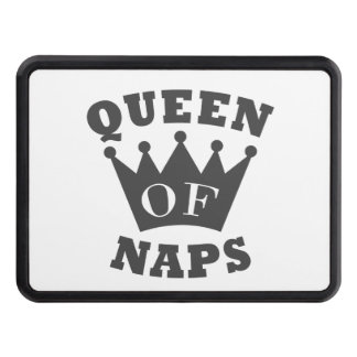 Queen of Naps Trailer Hitch Cover