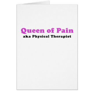Queen of Pain aka Physical Therapist Card