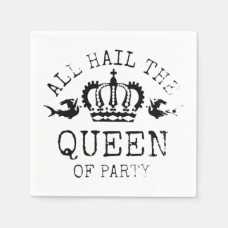 Queen of Party Paper Napkins