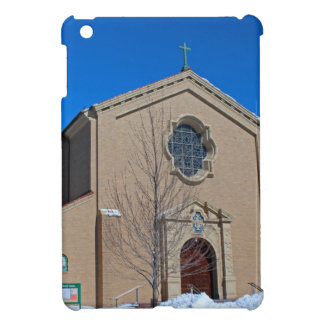 Queen of Peace Chapel in Winter iPad Mini Case