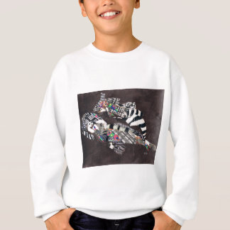 Queen of Sheba Floating Sweatshirt