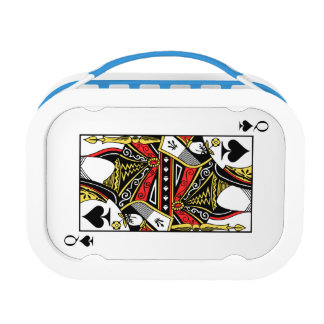 Queen of Spades - Add Your Image Lunch Box