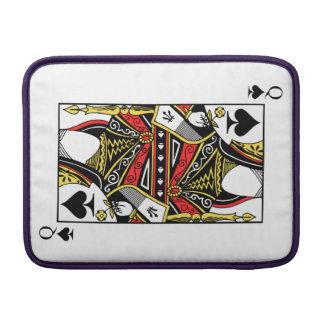 Queen of Spades - Add Your Image MacBook Sleeve