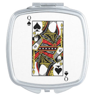 Queen of spades clothing accessory designs queen of for Mirror spades