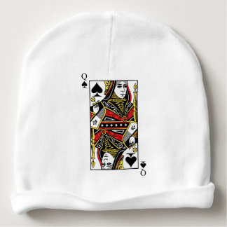 Queen of Spades Baby Beanie