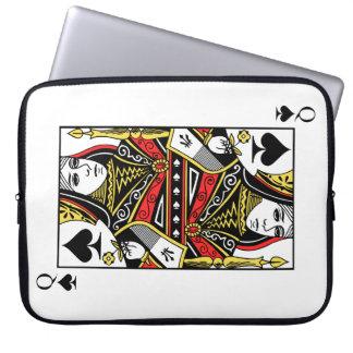 Queen of Spades Laptop Sleeve