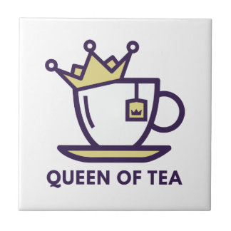 Queen Of Tea Tiles