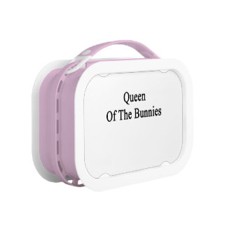 Queen Of The Bunnies Lunch Boxes