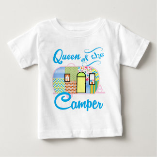 Queen of the Camper Baby T-Shirt