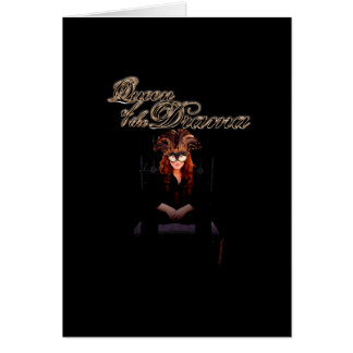 Queen of the Drama Card