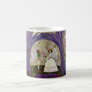Queen of the Flowers Thumbelina Art Mug