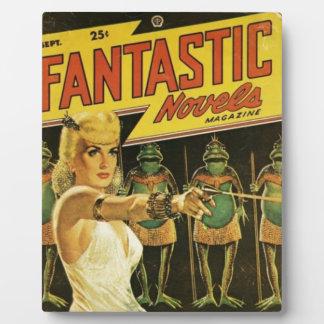Queen of the Frog Men Plaque