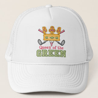 Queen of the Green Womens Golf Cap