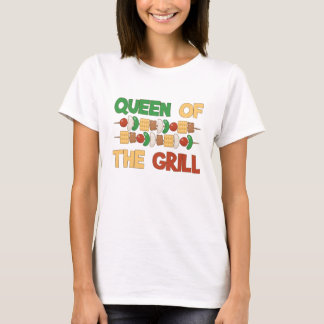 Queen of the Grill BBQ Skewers T-Shirt