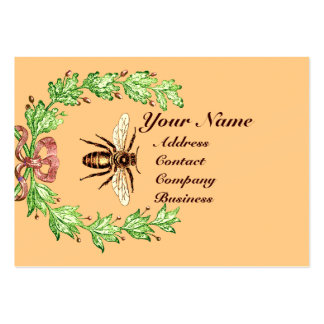 QUEEN OF THE HONEY BEES  IN SKEP / BEEKEEPER BUSINESS CARD TEMPLATE