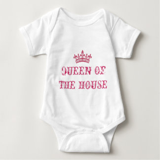 QUEEN OF THE HOUSE BABY BODYSUIT