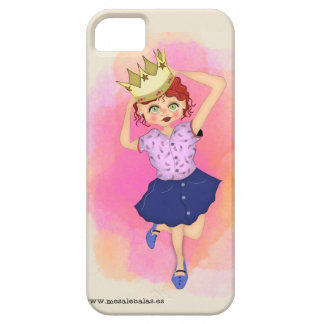 Queen of the house - precious Funda Case For The iPhone 5
