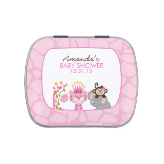 Queen of the Jungle and Friends Candy Tin Favor