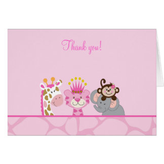 Queen of the Jungle & Friends Note Card
